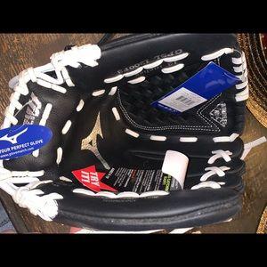 mizino softball glove